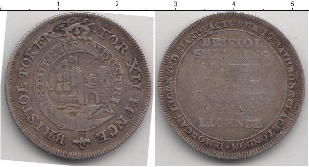 Картинка Монеты Великобритания 12 пенсов Серебро 0