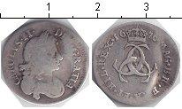 Изображение Монеты Великобритания 3 пенса 1676 Серебро VF Чарльз II