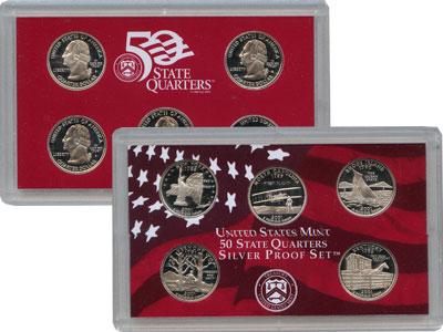Изображение Подарочные наборы США Квотеры 2001 2001 Серебро Proof Подарочный набор кво