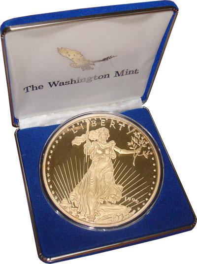 Изображение Монеты США Медаль 1996 Серебро Proof- Подарочный набор-мед