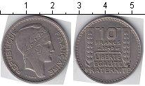 Изображение Мелочь Франция 10 франков 1948 Медно-никель XF