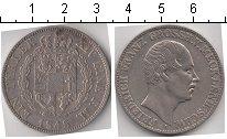 Изображение Монеты Мекленбург-Шверин 1 талер 1848 Серебро XF