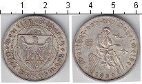 Изображение Монеты Веймарская республика 3 марки 1930 Серебро VF