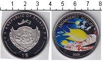 Изображение Мелочь Палау 1 доллар 2008 Медно-никель Proof Подводная жизнь