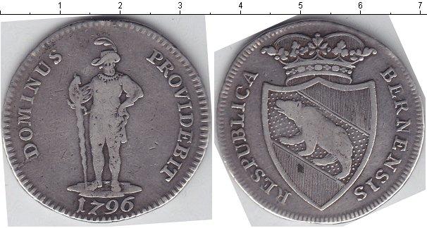Картинка Монеты Берн 1/2 талера Серебро 1796