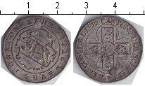 Изображение Монеты Берн 5 раппов 1826 Серебро  Заделано отверстие