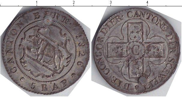 Картинка Монеты Берн 5 раппов Серебро 1826