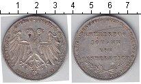 Изображение Монеты Франкфурт 2 гульдена 1848 Серебро VF Избрание эрцгерцога