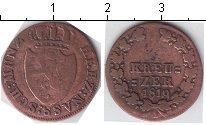 Изображение Монеты Нассау 1 крейцер 1819 Медь VF Герб
