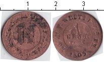 Изображение Монеты Вестфалия 1 сантим 1809 Медь