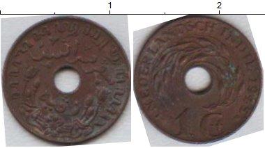 Картинка Мелочь Нидерландская Индия 1 цент Медь 0