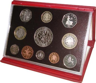 Изображение Подарочные монеты Великобритания Набор 2003 года 2003  Proof