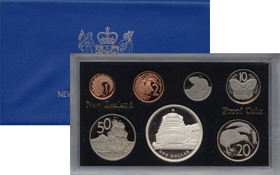 Изображение Подарочные монеты Новая Зеландия Выпуск 1978 года 1978  Proof Подарочный набор 197