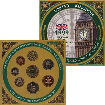 Изображение Подарочные наборы Великобритания Выпуск 1999 года 1999  UNC-
