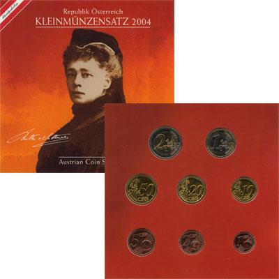Изображение Подарочные монеты Австрия Евронабор 2004 2004  Proof Евронабор 2004 года.