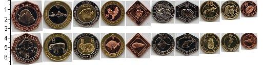 Изображение Наборы монет Кабинда Кабинда 2008 2008  XF В наборе 10 монет но