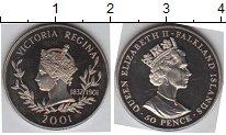 Изображение Мелочь Фолклендские острова 50 пенсов 2001 Медно-никель Proof-