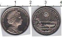 Изображение Мелочь Сендвичевы острова 2 фунта 2007  UNC Елизавета II