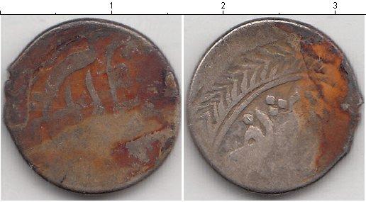 Картинка Монеты Индия 1/2 рупии Серебро 0