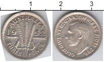 Изображение Мелочь Австралия 3 пенса 0 Серебро XF