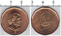 Изображение Мелочь Канада 1 доллар 2009 Медно-никель UNC- 100-летие Монреаль К