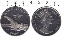 Изображение Мелочь Великобритания Остров Мэн 1 крона 1994 Медно-никель UNC-