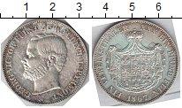 Изображение Монеты Вальдек-Пирмонт 1 талер 1867 Серебро XF Георг Виктор