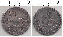 Изображение Монеты Ганновер 16 грош 1824 Серебро VF