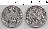 Изображение Монеты Любек 2 марки 1906 Серебро XF