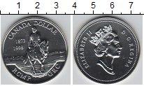 Изображение Монеты Канада 1 доллар 1998 Медно-никель UNC 100-летие Королевско