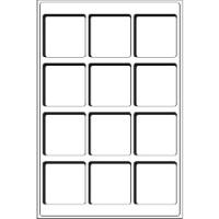 Картинка Аксессуары для монет Другие Пластиковый планшет на TAB 12 BL ячеек (324392)  0