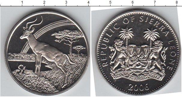 Картинка Мелочь Сьерра-Леоне 1 доллар Медно-никель 2006