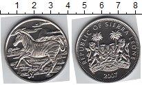 Изображение Мелочь Сьерра-Леоне 1 доллар 2007 Медно-никель UNC