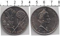 Изображение Мелочь Новая Зеландия 1 доллар 1981 Медно-никель UNC-
