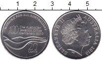 Изображение Мелочь Австралия 20 центов 2010 Медно-никель UNC-