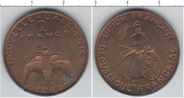 Картинка Монеты Новая Каледония 2 франка Медно-никель 1948