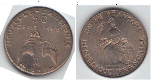 Картинка Монеты Новая Каледония 50 сантим Медно-никель 1948