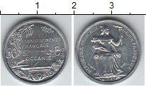 Изображение Мелочь Франция Океания 50 сантим 1949 Алюминий XF