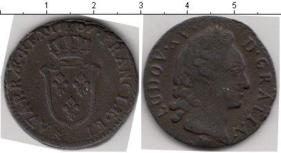 Картинка Монеты Франция 1 соль Медь 1767