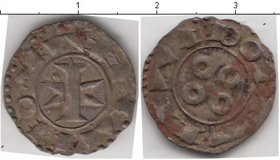 Картинка Монеты Франция 1 денье Серебро 0