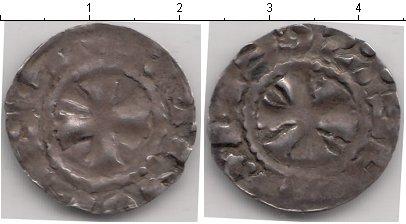 Картинка Монеты Франция 1 денье Серебро 950