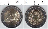 Изображение Мелочь Германия 2 евро 2012 Биметалл UNC