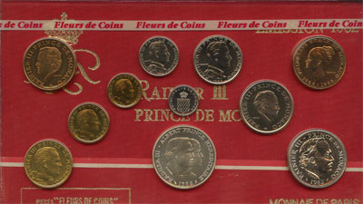 Изображение Подарочные наборы Монако Принц Монако Ренье 1982   `Подарочный набор по