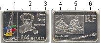 Изображение Мелочь Франция 1/4 евро 2008 Серебро UNC-