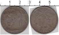 Изображение Монеты Бельгийское Конго 1 франк 1922 Медно-никель   /
