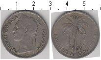 Изображение Монеты Бельгийское Конго 1 франк 1925 Медно-никель  Альберт. DER BELGEN