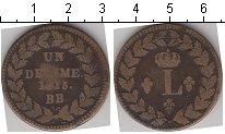 Изображение Монеты Франция 1 десим 1815 Медь VF