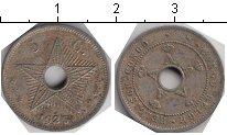 Изображение Монеты Бельгийское Конго 5 сантим 1925 Медно-никель