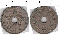 Изображение Монеты Бельгийское Конго 10 сантим 1911 Медно-никель