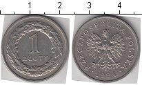 Изображение Мелочь Польша 1 злотый 1994 Медно-никель XF